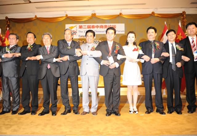 2013, Mr. Junqing Lu and ToJoy executives participating in the 2nd Thailand-China Business Forum